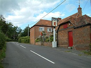 Mortimer West End - Image: The Red Lion, Mortimer West End geograph.org.uk 56037