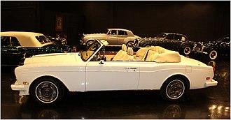 "Rolls-Royce Corniche - The Rolls-Royce Corniche ""S""."