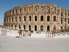 The Roman Amphitheatre at el-Djem (IX) (5617770198).jpg