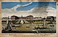 The Royal Hospital, Chelsea; viewed from the Surrey bank wit Wellcome V0012915.jpg