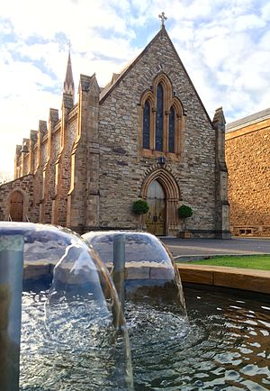 St Peter's College, Adelaide - The St Peter's College chapel, opened in 1864