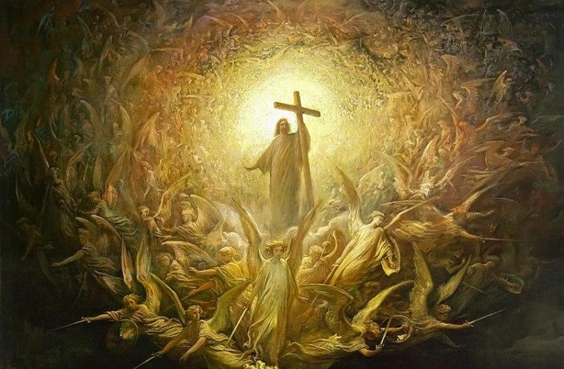 Jesus med korset