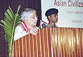"The Union Minister for Human Resource Development Dr. Murli Manohar Joshi speaking at the International Conference on "" Asian Civilizational Dialogue"" in New Delhi on March 9, 2004.jpg"