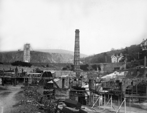 Laxey Mine - The Washing Floor of the Great Laxey Mine