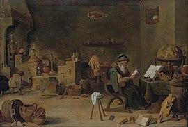 Der Alchimist (Quelle: Wikimedia)