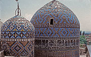 The mausoleum of Sheikh Safi-ad-Din-e-Ardabili