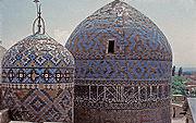 The mausoleum of Sheikh Safi-ad-Din-e-Ardabili