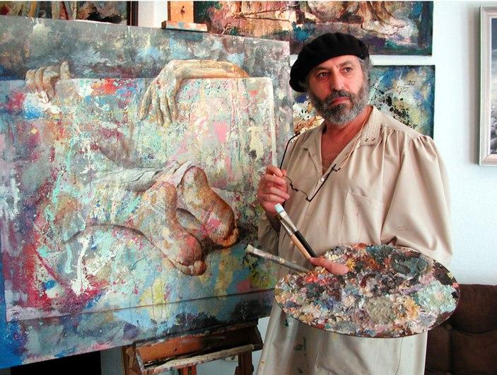 The painter Zoro Mettini 2001.jpg
