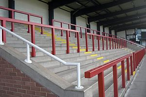 Nene Park - Image: The terrace