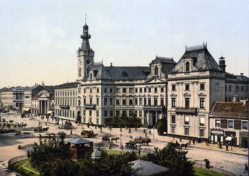Theater Square Warsaw