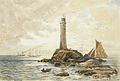 Themistokles von Eckenbrecher - Lands End mit Segelschiffen und Leuchtturm.jpg