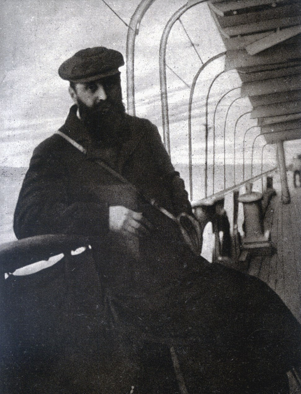Theodor Herzl on the passage to Egypt