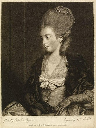 Mary Palmer - Image: Theophilapalmer After Reynolds