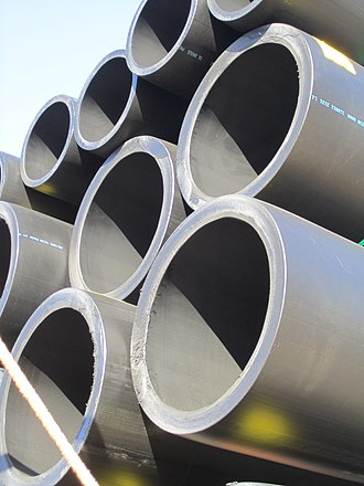 Slurry pipeline - Thick walled HDPE Pipes for Slurry application.