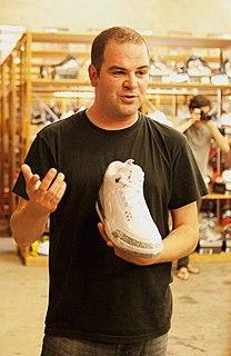 Jordan Geller American sneaker collector