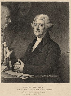 Pendleton's Lithography - Image: Thomas Jefferson ca 1828 by Pendleton LOC