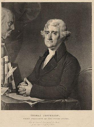 Pendleton's Lithography - Image: Thomas Jefferson ca 1828 by Pendleton LOC
