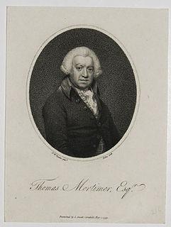 Thomas Mortimer (writer) British writer