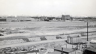 Thornaby TMD - Thornaby Tees Yard under construction