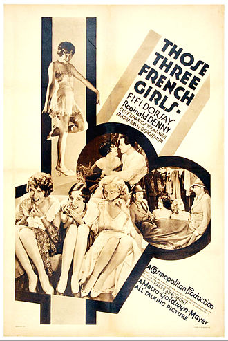 Fifi D'Orsay - Those Three French Girls (1930)