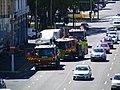Three Scania fire engines, Dunedin, New Zealand.JPG