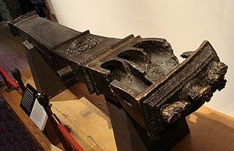 Breechloader - Three-shot experimental breech-loading cannon (burst) of Henry VIII, 1540–1543.