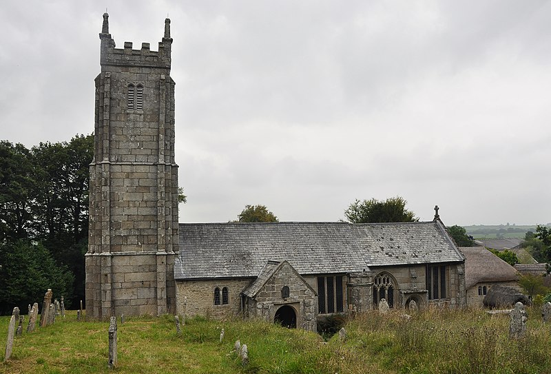 Bestand:Throwleigh church.jpg
