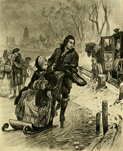 File:Thus clad, I carelessly when on skating up and down (The Works of J. W. von Goethe, Volume 5).png