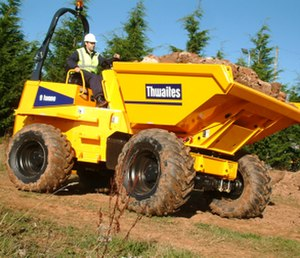Dumper - A Thwaites dumper in action
