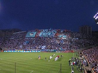 Stade Vélodrome - Image: Tifo Virage Sud OM Lille