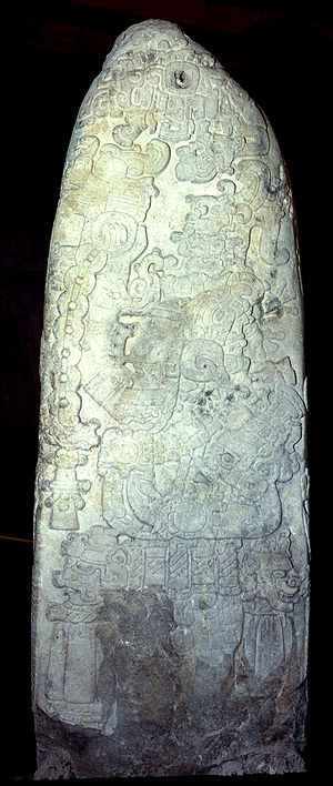 Spearthrower Owl - Tikal Stela 31