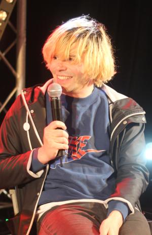 Tim Burgess (musician) - Burgess in 2014