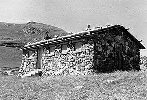 Timberline Cabin - Photo taken 1985