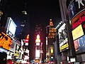 Times Square at night- Manhattan, New York City, United States of America (9867925666).jpg