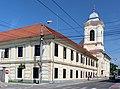 Timisoara, Spitalul si biserica mizericordienilor.jpg
