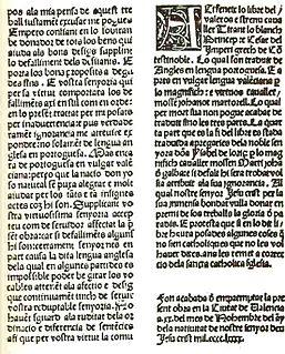 Catalan literature literature written in the Catalan language