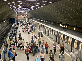 Titan Subway Station, Bucharest, Romania Titan Station, Bucharest, Romania.jpg