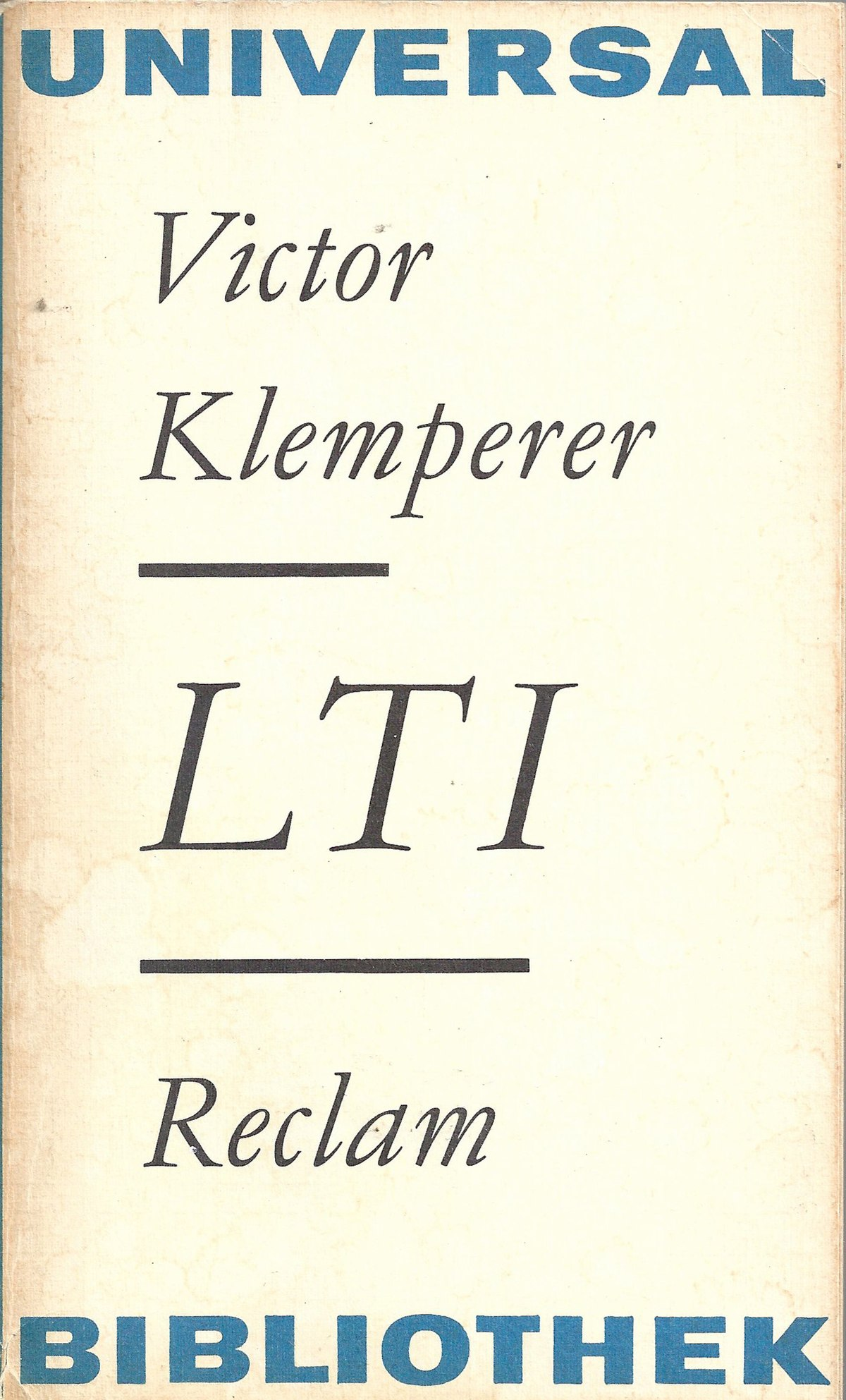 Lingua Tertii Imperii — Wikipédia