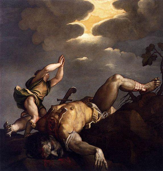 File:Titian - David and Goliath - WGA22779.jpg