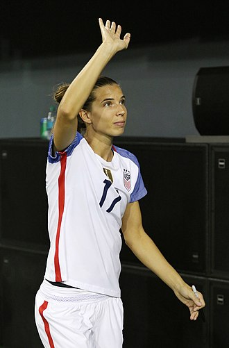 Tobin Heath - Heath with the United States women's national soccer team in September 2017