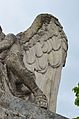 Todesco monument - angel's left wing.jpg