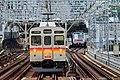 Tokyu 8500 series Futako-Shinchi Station 2017-05-07 (35550970185).jpg