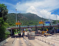 Toll booth at south portal of Aberdeen Tunnel, Hong Kong.jpg