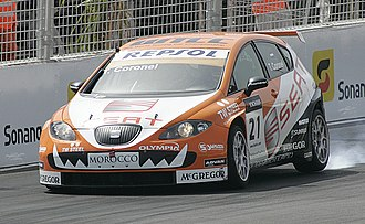 Sunred Engineering - Image: Tom Coronel 2009 WTCC Marrakech