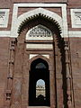 Tomb of Ghiyasuddin Tughlaq entrance (3318236629).jpg