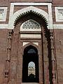 Tomb of Ghiyasuddin Tughlaq entrance (3318236629).jpg