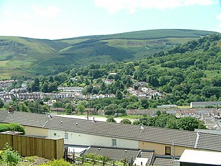Ton Pentre Human settlement in Wales