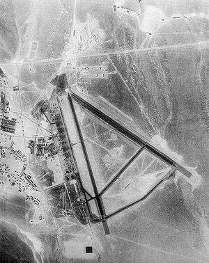 Tonopah Air Force Base - Image: Tonopah aerial 1944