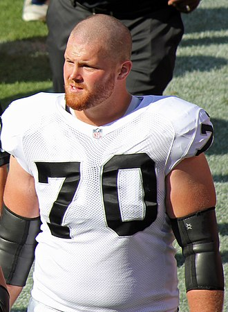 Tony Bergstrom - Bergstrom in 2012 with the Raiders.