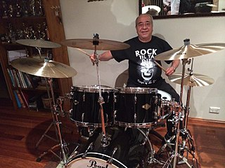 Tony Currenti Australian drummer of Italian descent